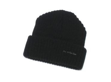 Knit hat, watch cap, street hip hop fashion online, So MELLOW clothing and styles
